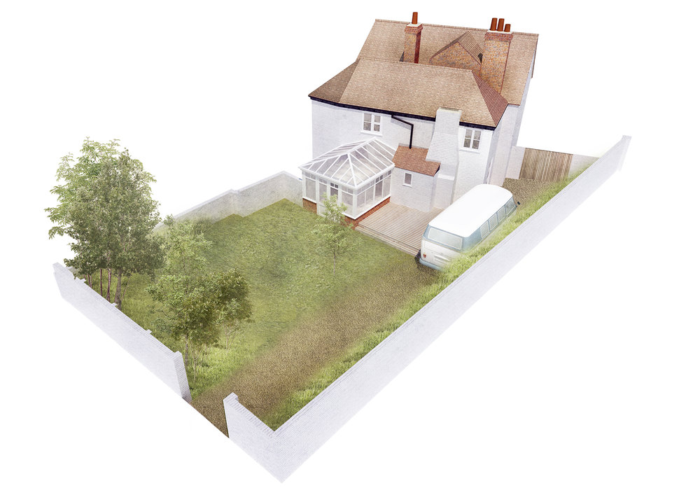 Existing House, Twyford, Hampshire