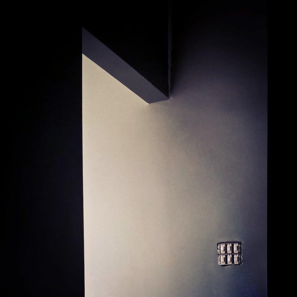 New Energy Yoga Studio - Dark stairway