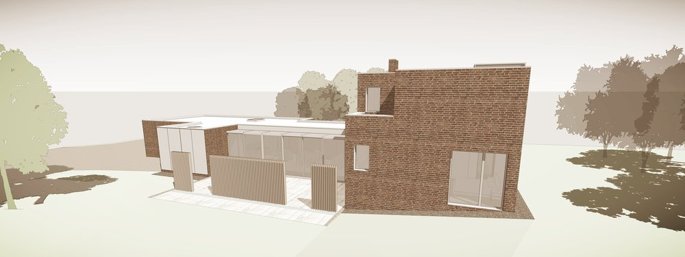 Herdsman's Cottage, Upham, Hampshire, Conceptual View 2