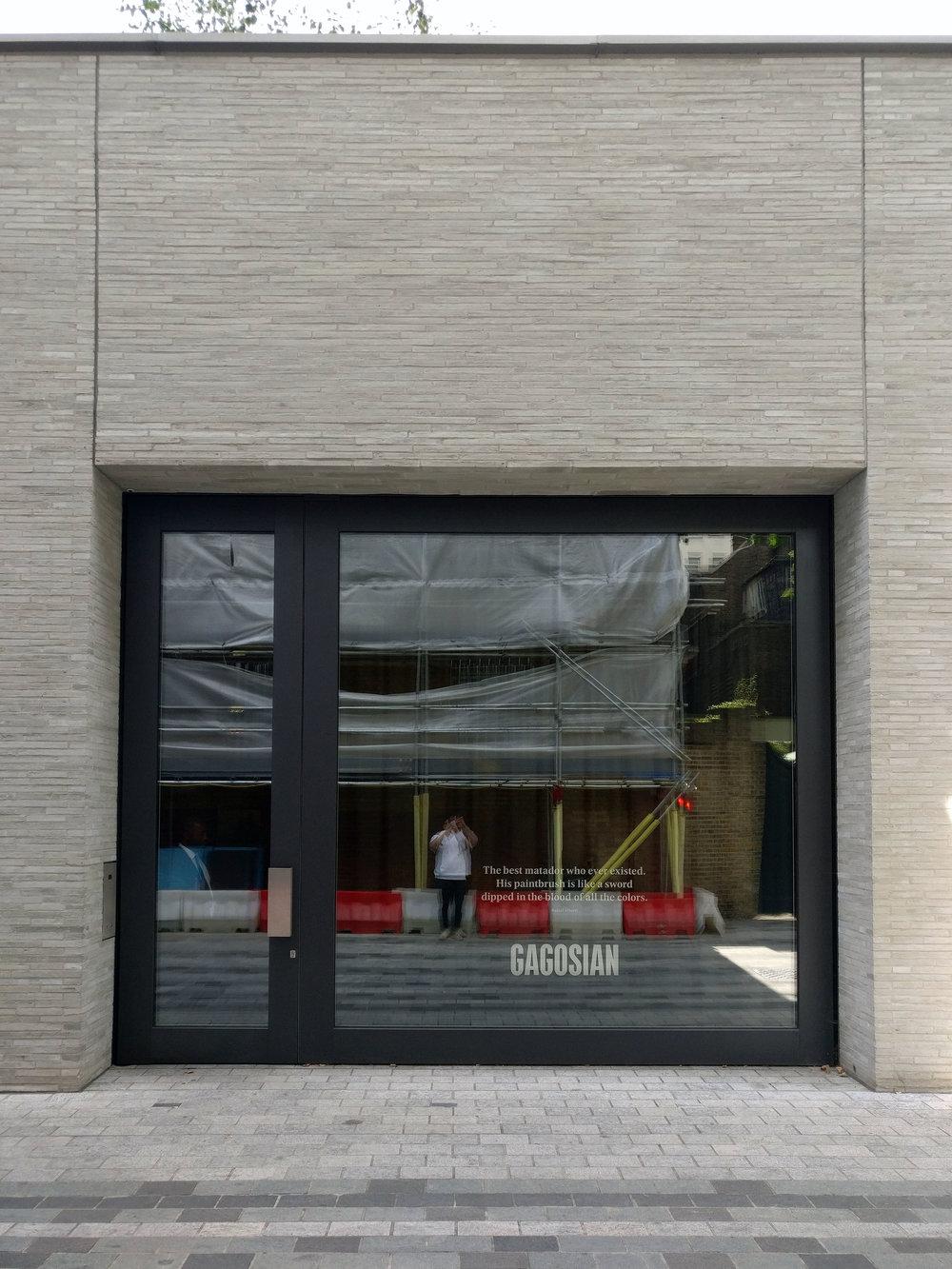 Caruso St. John, Gagosian Gallery, London