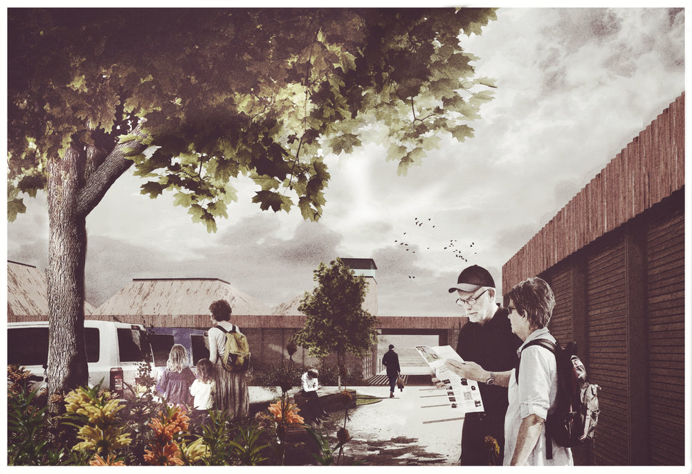 Sevenoaks Visitor Centre, Kent - Entrance Visualisation