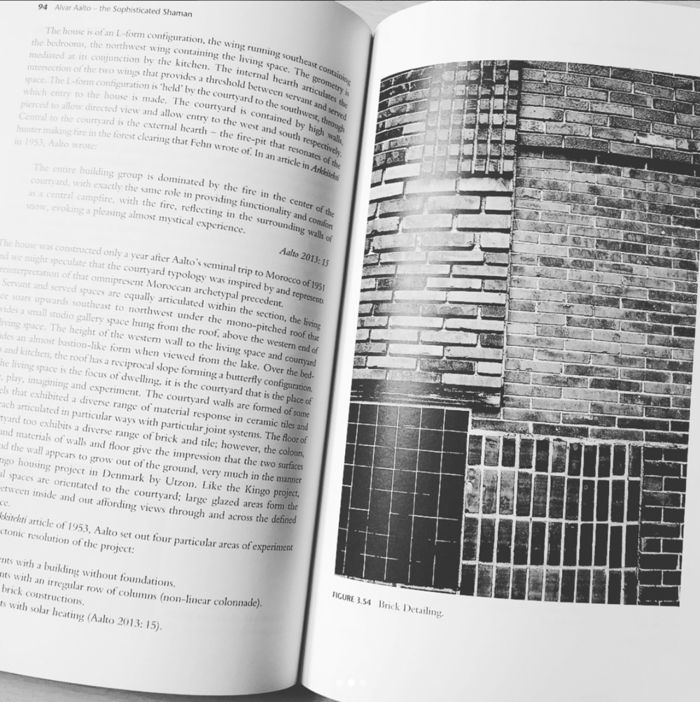 Aalto, Utzon, Fehn: Three Paradigms of Phenomenological Architecture by Roger Tyrell
