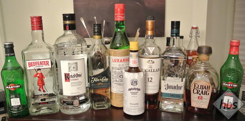Good Home Bar Bottles To Have — homebarsociety
