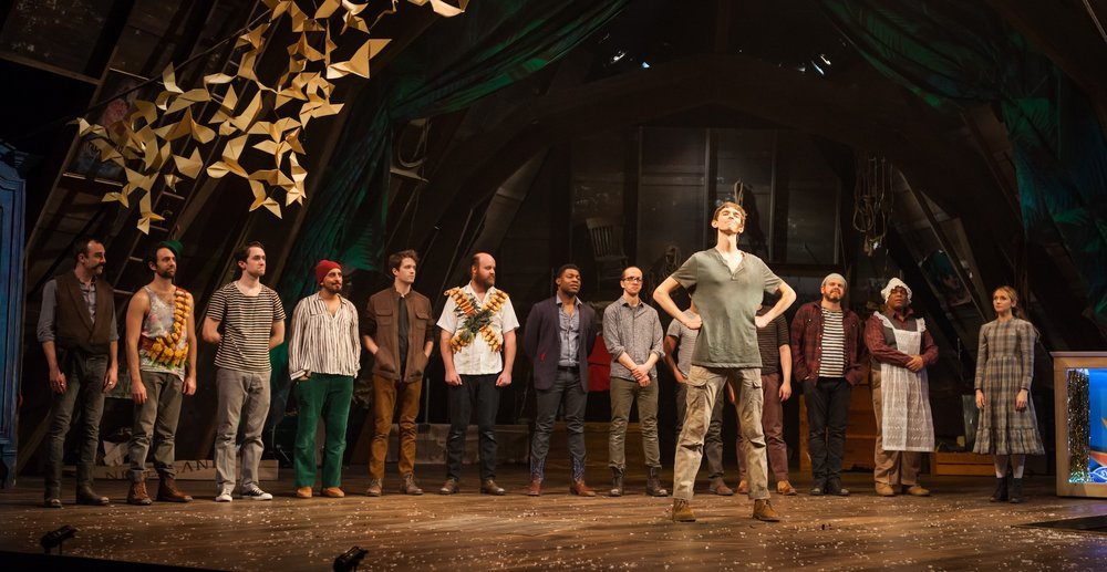 18. Cast of PETER AND THE STARCATCHER, 2016. Photo by Bill Brymer..jpeg