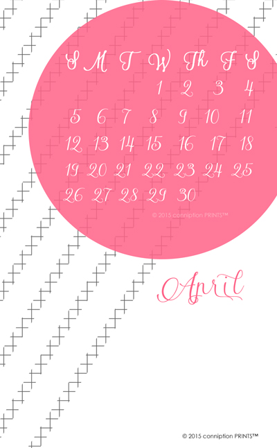 Desktop Calendar Freebie