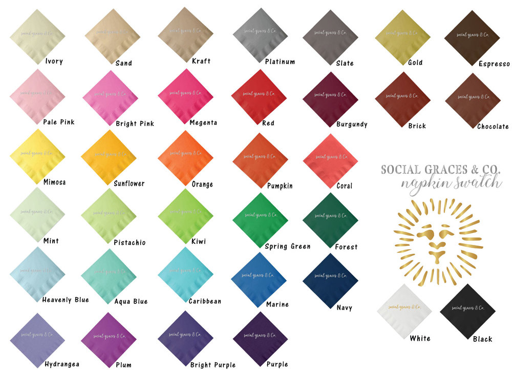 Select - napkin color