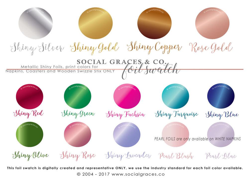 Select - Foil Imprint Color