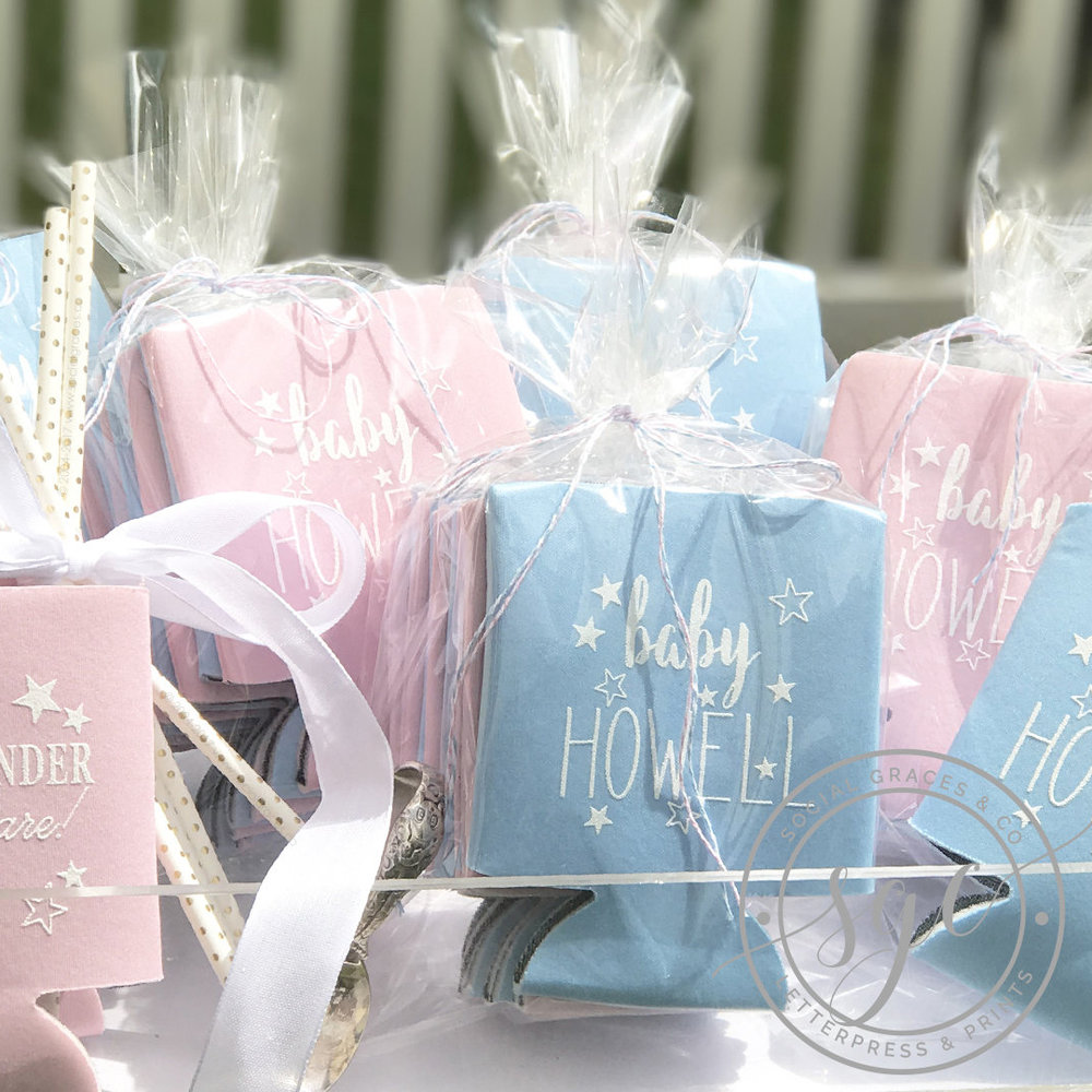 Add adorable Party Favors and Gifts and you're all set!