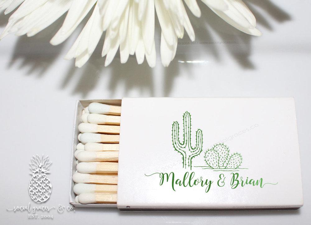 Desert Cactus - MATCHBOXES