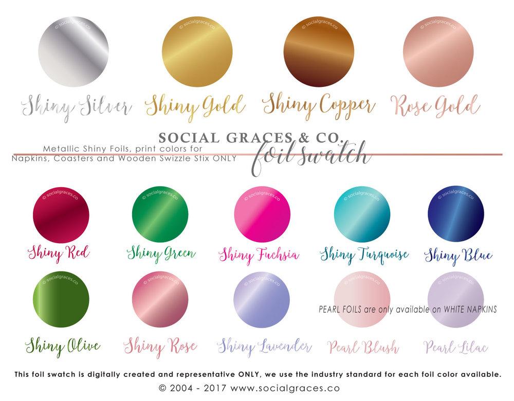 ... - Foil Imprint Color