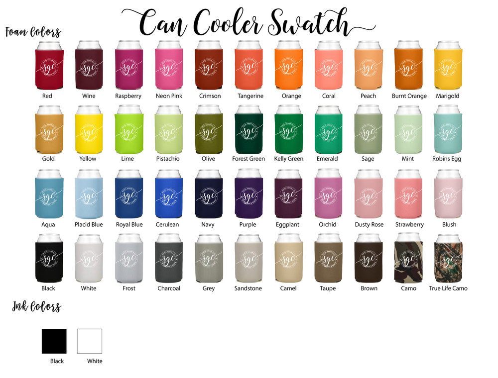 ... - can cooler swatch