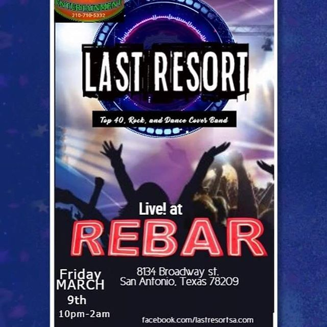 Live tonight at REBAR no cover!!!