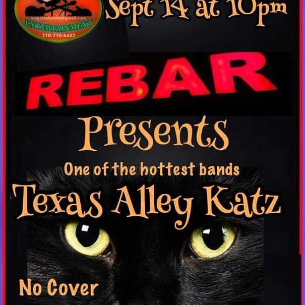 Tonight at Rebar!! No cover!!