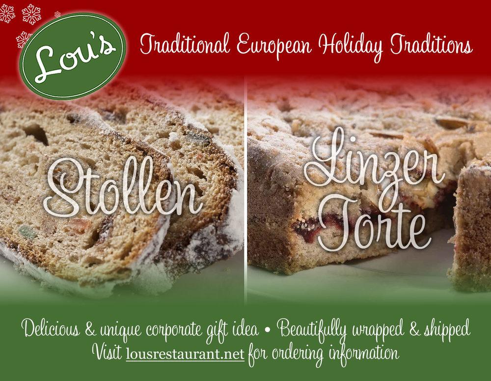 Lou's Restaurant & Bakery - Postcard