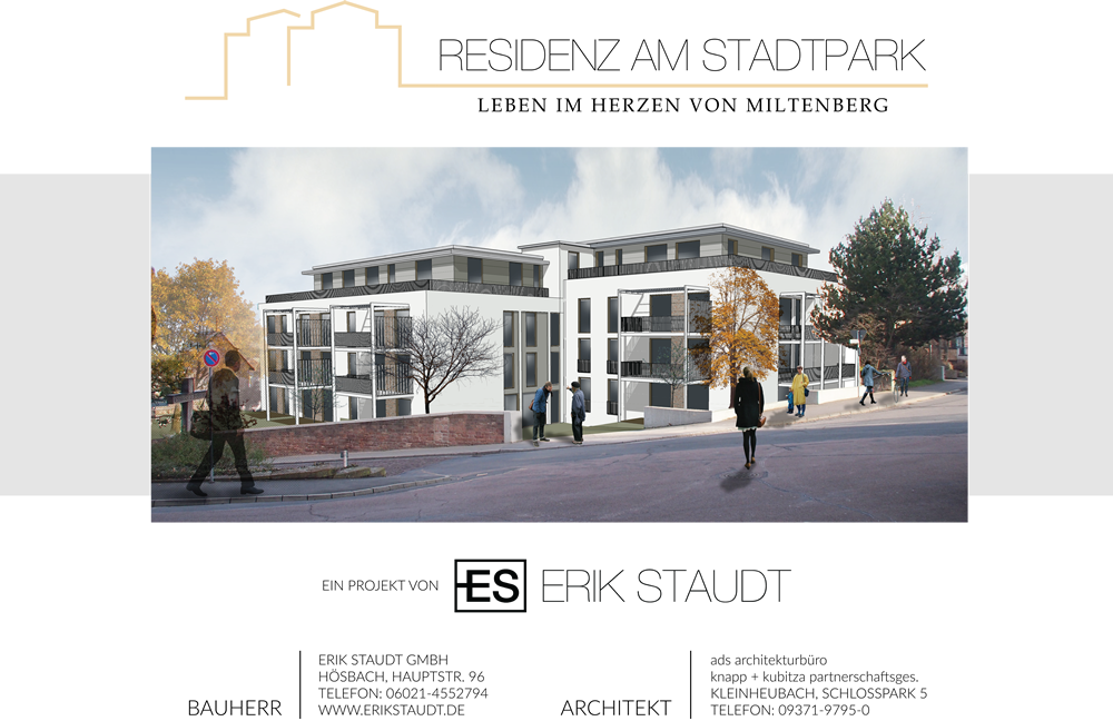 Erik Staudt GmbH - Building Project Sign