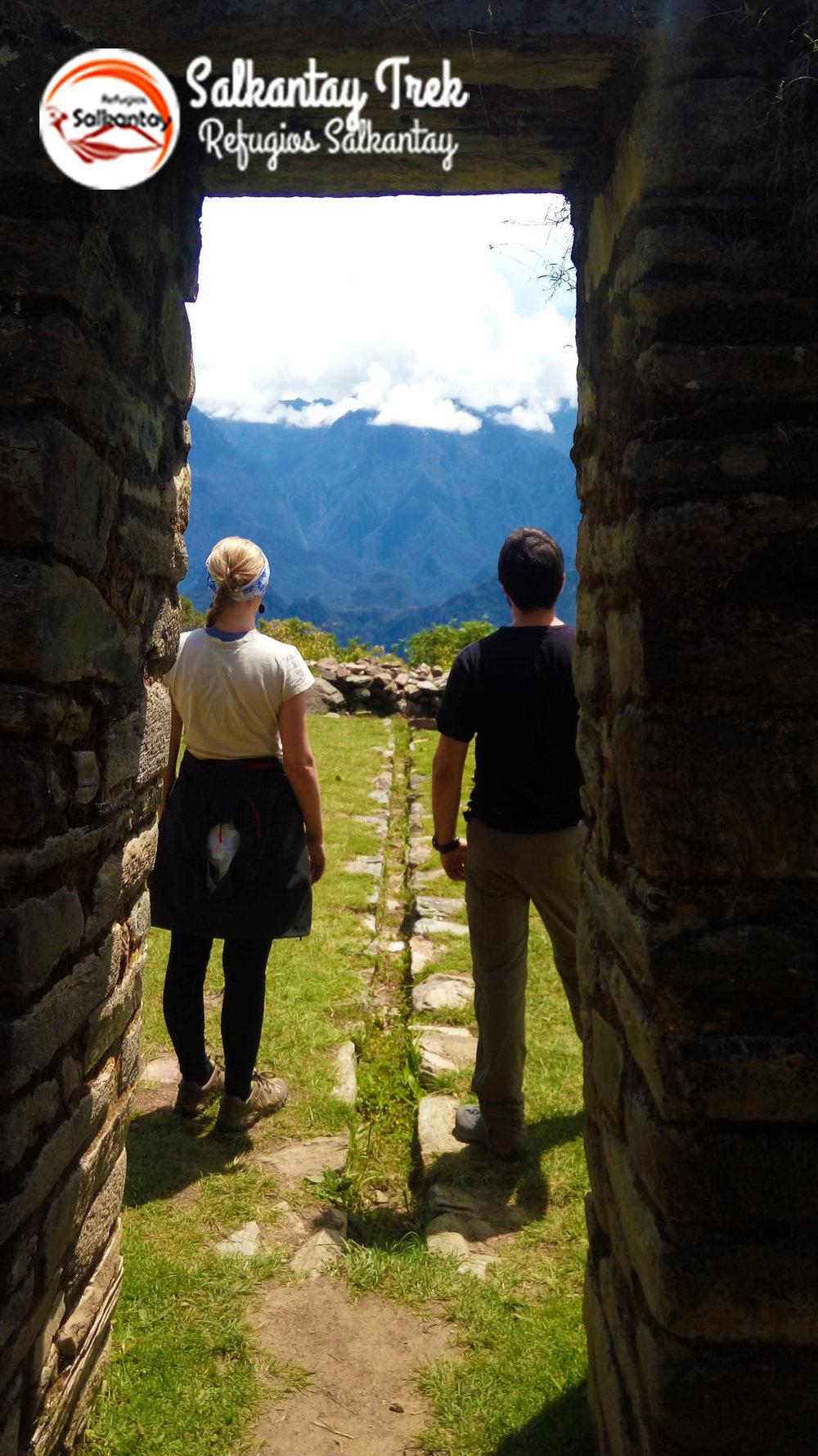Refugios Llactapata - Salkantay Trek