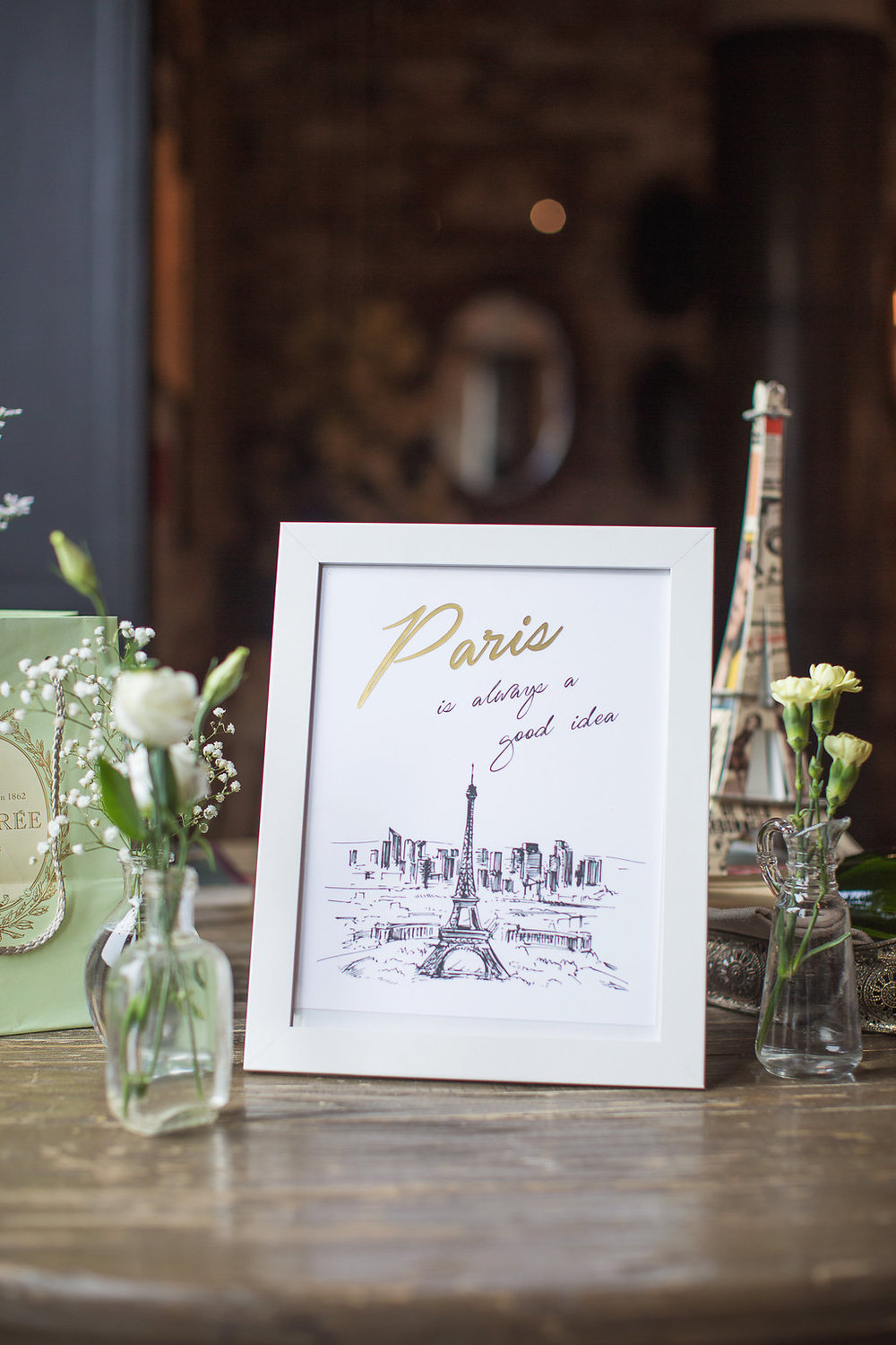 Cluny Bistro Parisian Birthday Party — Phoebe Lo Events