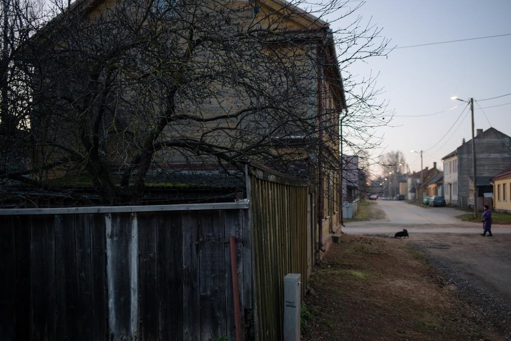 Ülejõe, Tartu, Estonia. November 2014.