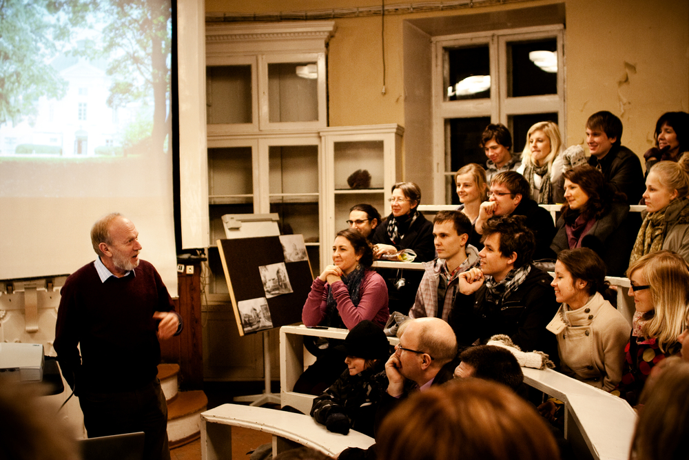 Prof Žarkovski, Tartu, Estonia. November 2011.
