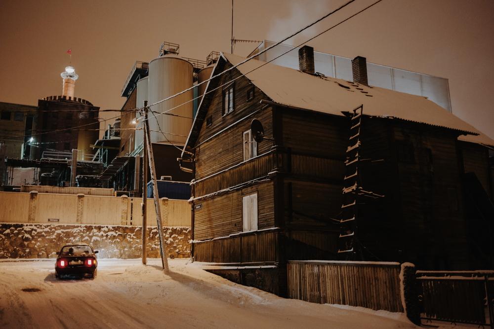 Supilinn, Tartu, Estonia. December 2014.
