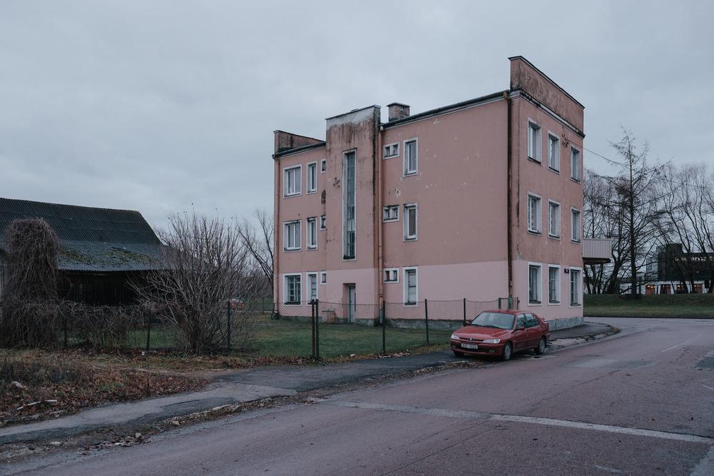Ülejõe, Tartu, Estonia. December 2014.