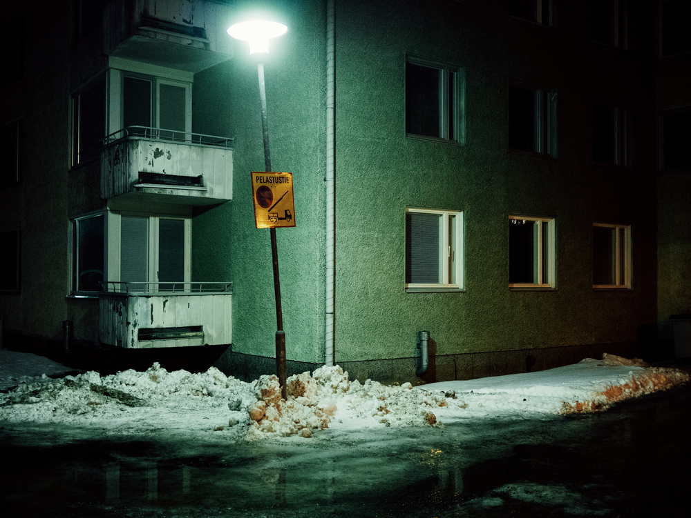 Lappeenranta, Finland. February 2015.