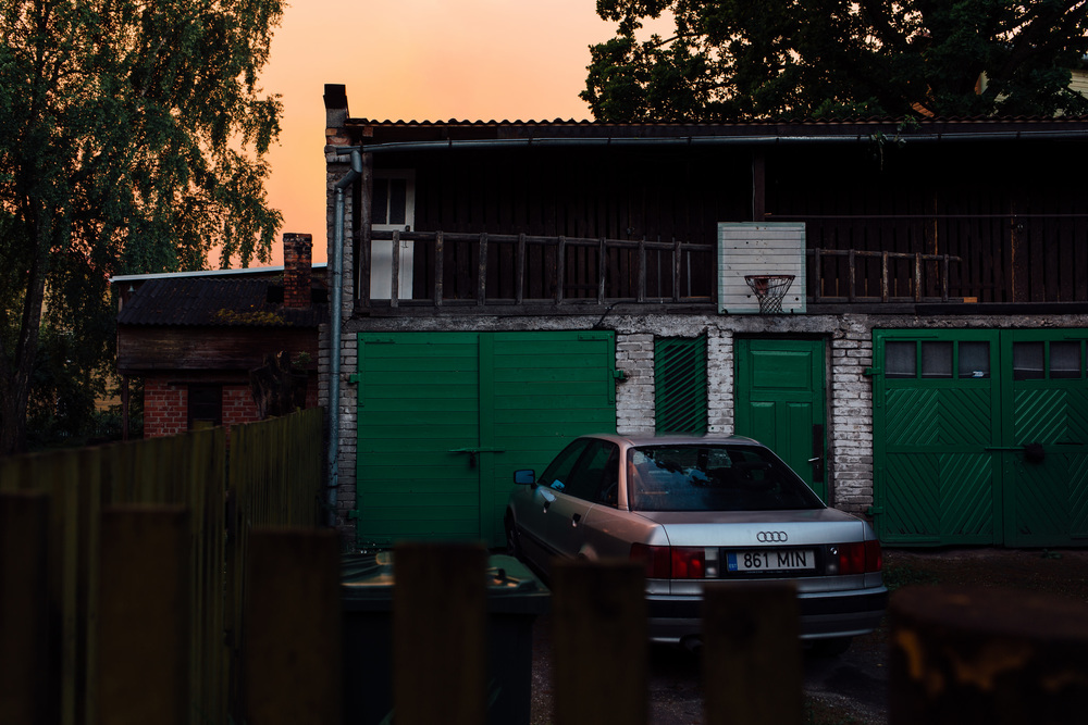 Karlova, Tartu, Estonia. June 2015.