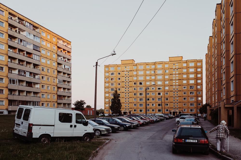 Annelinn, Tartu, Estonia. June 2015.