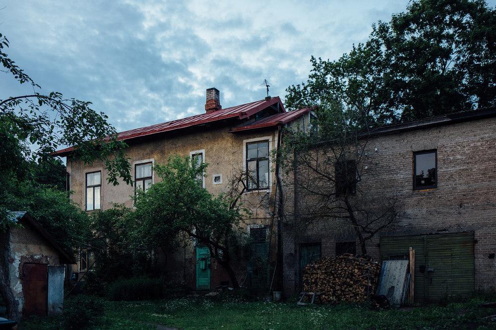 Ülejõe, Tartu, Estonia, June 2015