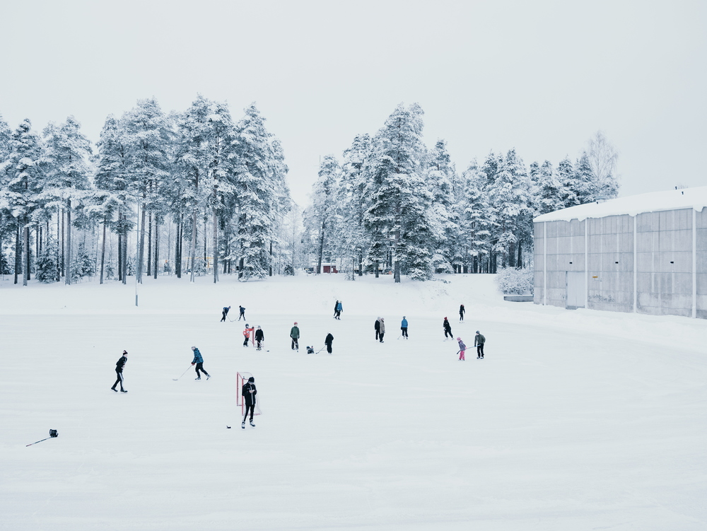 Heinola, Finland, January 2016