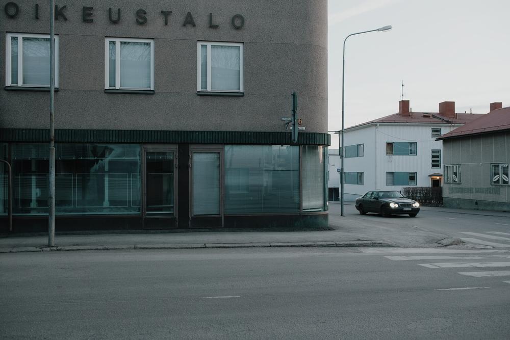 Former courthouse in Kaurisäki-esque Heinola, Finland, April 2016