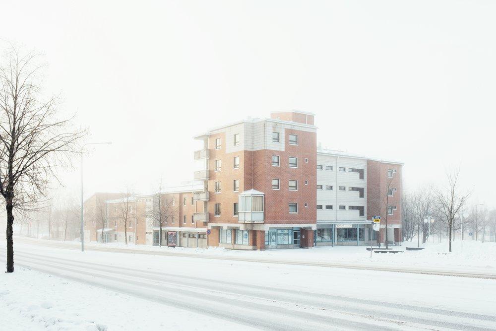Asemantausta, Lahti, Finland, December 2016