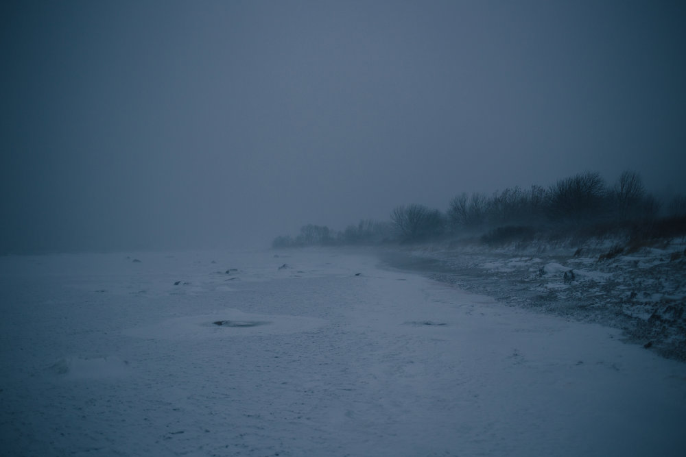 Paljassaare, Tallinn, Estonia, January 2017