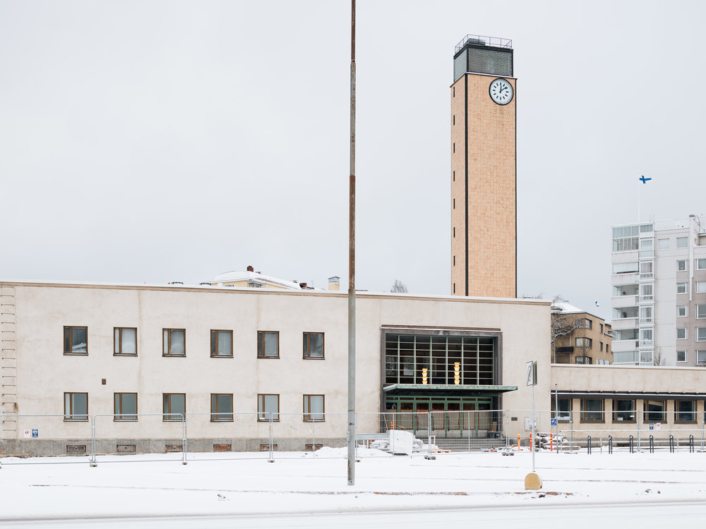 Bus Station, Lahti, Finland, December 2017