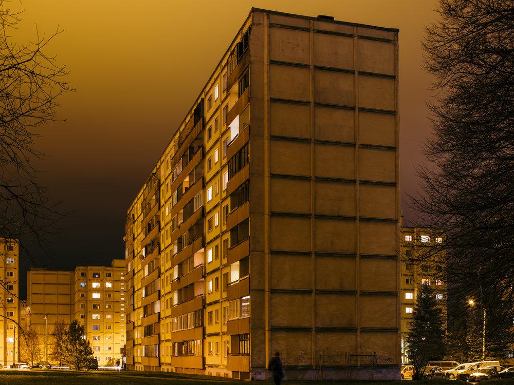 Annelinn, Tartu, Estonia, November 2018
