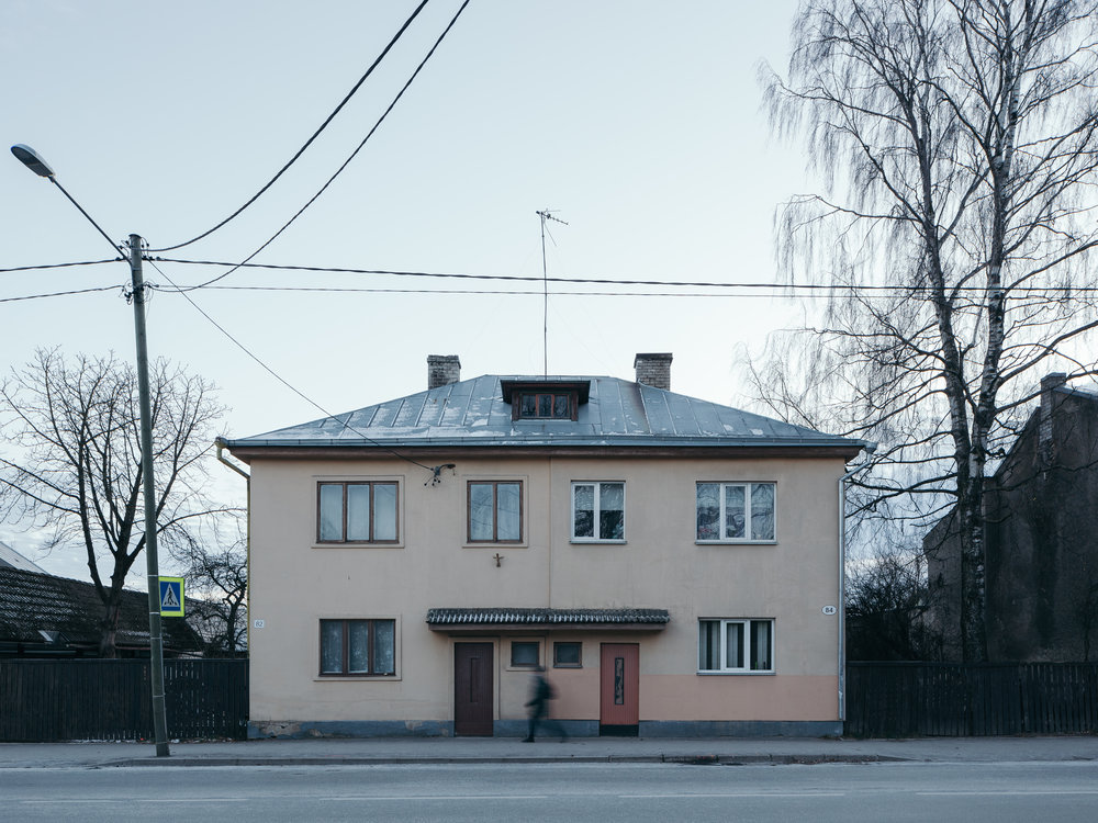 Karlova, Tartu, Estonia, December 2018