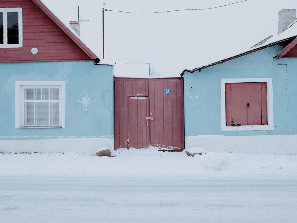 Kallaste, Tartumaa, Estonia, December 2018