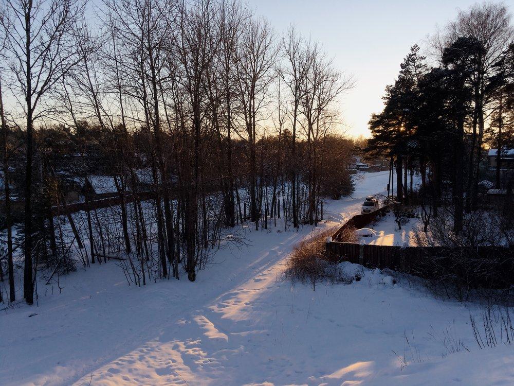 Rahumäe, Tallinn, Estonia, February 2019