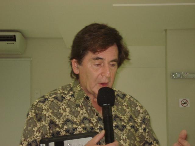 Visita de Joseph Moreno (USA) em Florianópolis e Tubarão