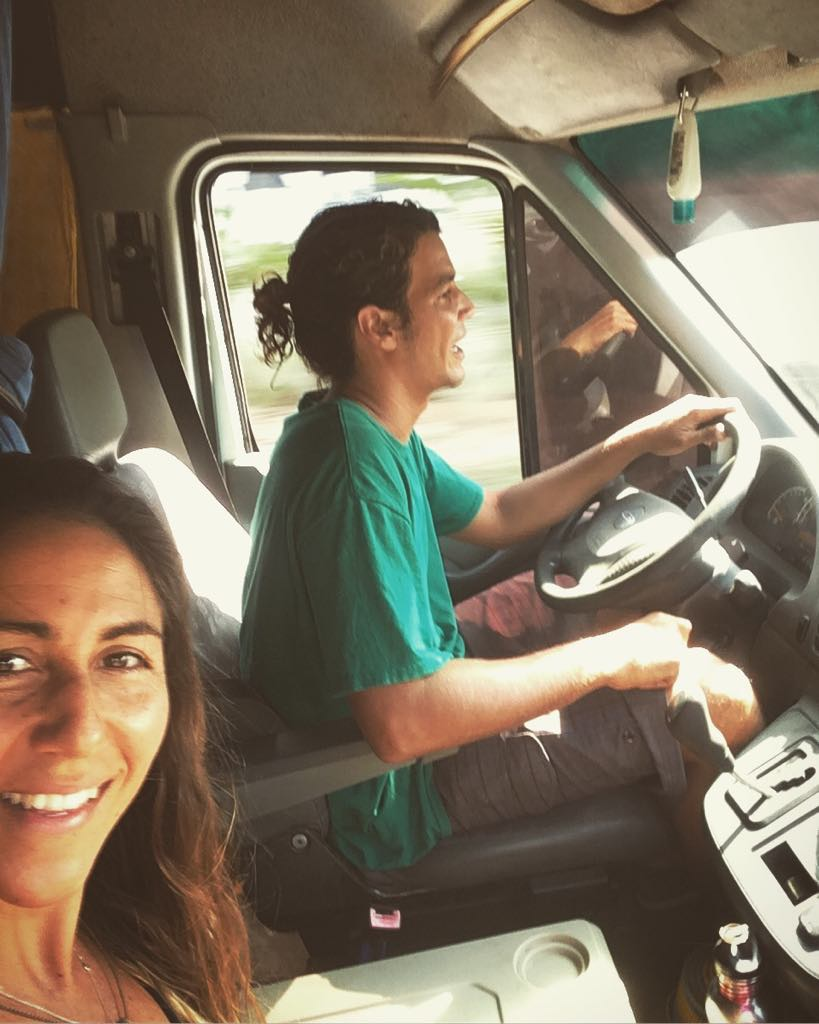 vanlife driving