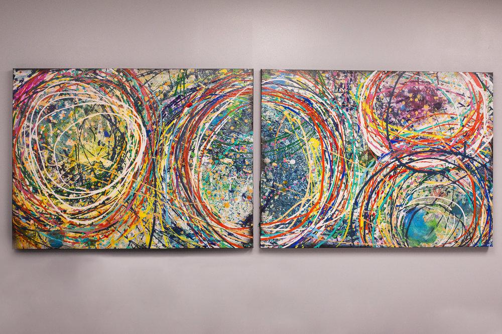Acrylic  Sold
