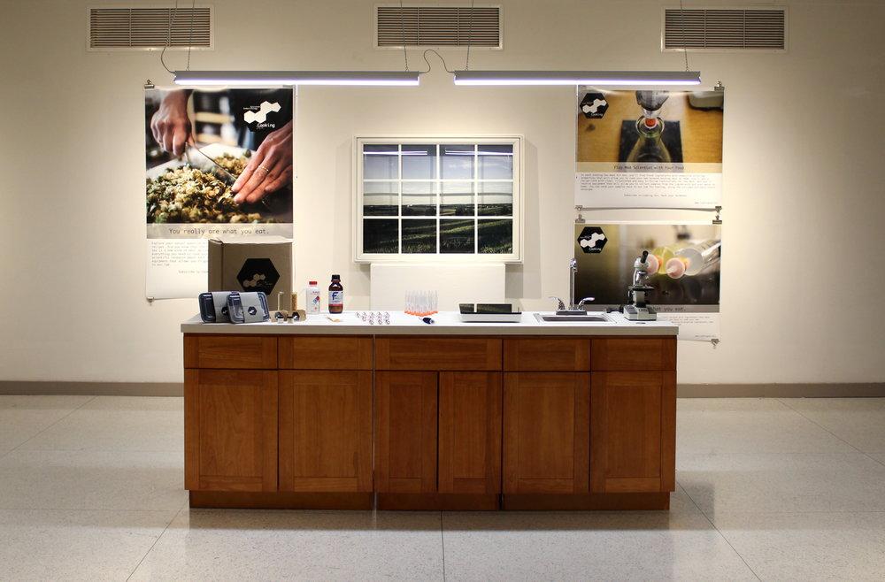 Hybrid Kitchen/Lab Mobile Workshop and Gallery Display