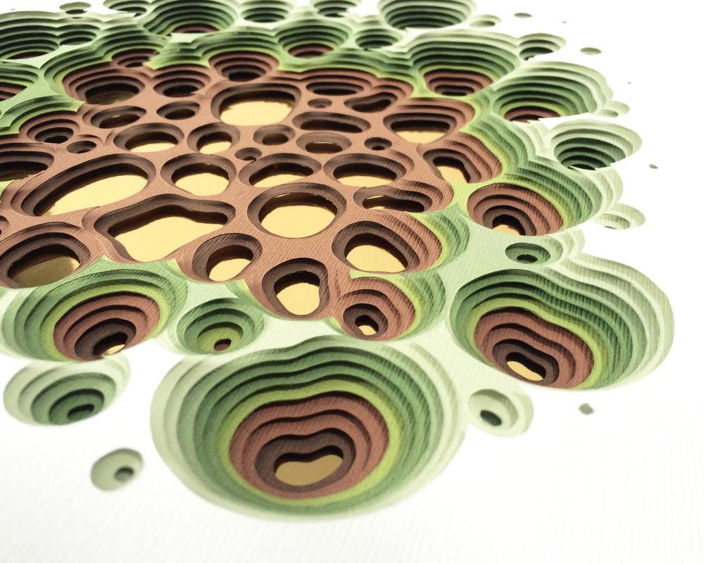 Porous I (Detail)