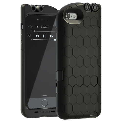 pretty nice c9fd4 f3ed0 TurtleCell for iPhone 6 - Black