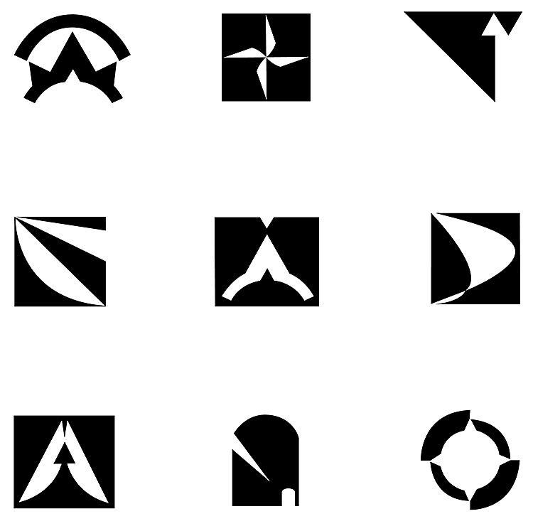 Logo Mark Explorations - 1997