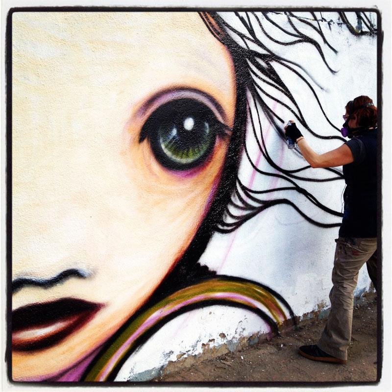 Grafitti Artistico Gloria Muriel
