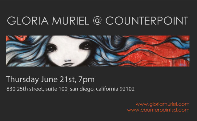 Gloria Muriel at Counterpoint San Diego CA 2012