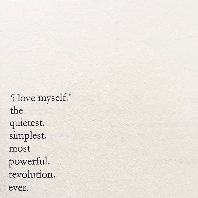 start your revolution 🙌  poem by @nayyirah.waheed from her lovely work Salt.