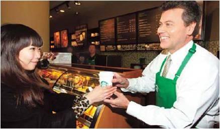 Starbucks coffee customer service