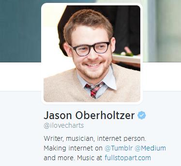 Jason Oberholtzer's Twitter Bio